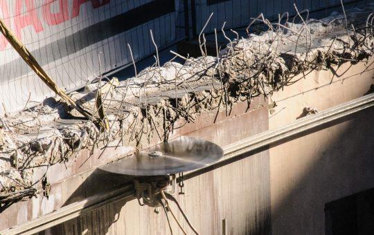 Cięcie betonu tarczami diamentowymi